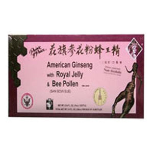 American Ginseng Royal Jelly With Bee Pollen, 10x10 Cc by Prince Of Peace (2584088936533)