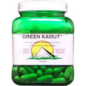 Organic Green Kamut Dried Juice Caps 240 by Green Kamut