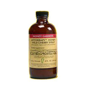 Cough Syrup Apitherapy Cherry 4 Oz by Honey Gardens Apiaries