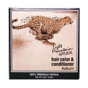 Natural Hair Color and Conditioner Auburn 4 Oz by Light Mountain