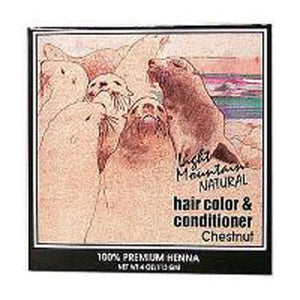 Haircolor Chestnut 4 Oz by Light Mountain (2588689662037)