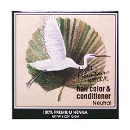 Natural Hair Color and Conditioner Neutral 4 Oz by Light Mountain
