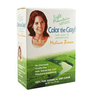 Color The Gray Brown-Medium 7 Oz by Light Mountain