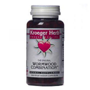Wormwood Combination Caps 100 by Kroeger Herb (2584099258453)