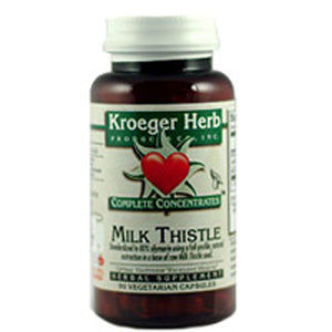 Milk Thistle 80% Caps 90 by Kroeger Herb (2584099848277)