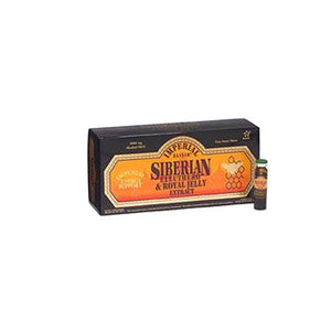 Siberian Eleuthero Extract with Royal Jelly Vials 10x10ml by Imperial Elixir / Ginseng Company (2588862546005)