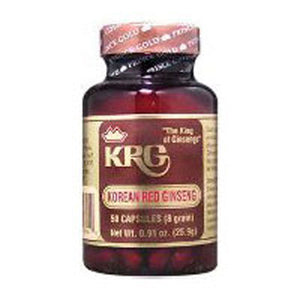 Korean Red Ginseng 8gr, 50 Cap by Prince Of Peace