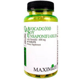 Avocado300 Soy Unsaponifiables with Sierrasil 60 Tabs by Maximum International (2584215584853)
