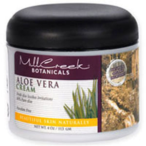 80% Aloe Vera Cream 4 oz by Mill Creek Botanicals