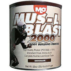 Mus-L Blast 2000+ Chocolate Powder 47 oz by MLO Products/ Genisoy (2588690219093)