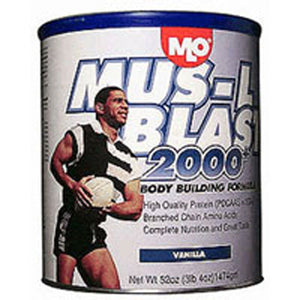 Mus-L Blast 2000+ Vanilla Powder 47 oz by MLO Products/ Genisoy (2588690284629)