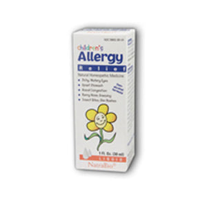 Childrens Allergy 1 FL Oz by NatraBio (2583993385045)