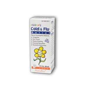 Childrens Cold & Flu 1 FL Oz by NatraBio