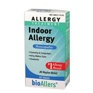 bioAllers Indoor Allergy 60 Tabs by BioAllers (2583993712725)