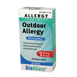 bioAllers Outdoor Allergy 60 Tabs by NatraBio (2588691005525)