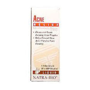 Acne Relief 60 Tabs by NatraBio (2584191402069)