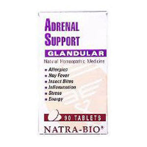 Adrenal Support 60 Tabs by NatraBio