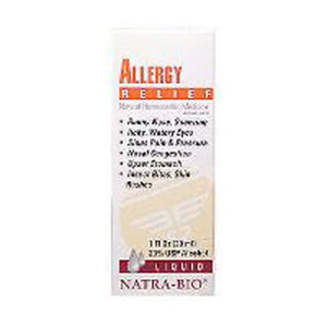 Allergy Relief 60 Tabs by NatraBio