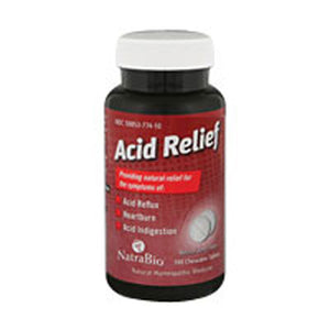 Acid Relief 100ct by NatraBio (2584248385621)