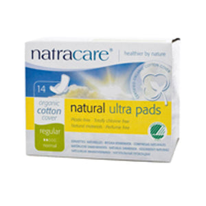 Ultra W/ Wings Pads 14 CT EA by Natracare (2584028610645)