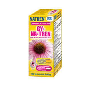 Gy-Natren Vaginal Health Solution Kit Two of 14 capsule bottles by Natren