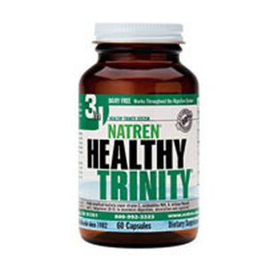 Healthy Trinity Dairy Free, 60 CAP by Natren