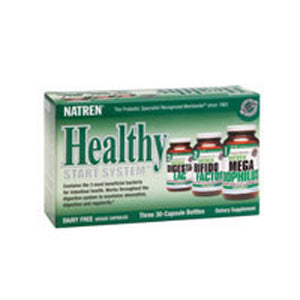 Healthy Start System Dairy Free, 3-30 Cap by Natren