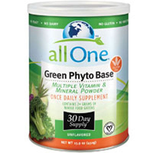 Green Phyto-Base Powder 30 Day supply 15.9 Oz by All-One (Nutri-Tech)