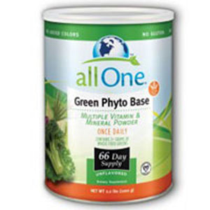 Green Phyto-Base Powder 66 Day supply 2.2 Lbs by All-One (Nutri-Tech)