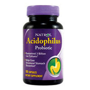 Acidophilus 100 Caps by Natrol