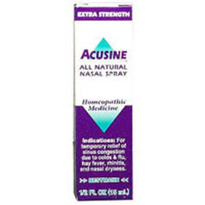 Nasal Spray Homeopathic 0.5 Oz by Acusine