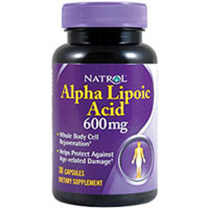Natrol Alpha Lipoic Acid 30 caps by Natrol