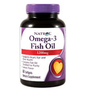 Omega 3 60 Softgels by Natrol (2584195072085)