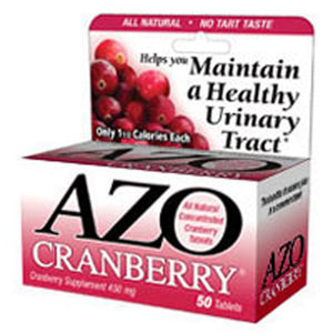 Azo Cranberry Supplement 50 tabs by Amerifit Nutrition