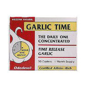 Garlic Time Release 180 Caps by Arizona Natural Products