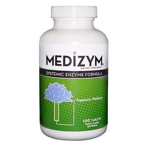 Medizym Systemic Enzyme Formula 100 Tabs by Naturally Vitamins (2584236359765)