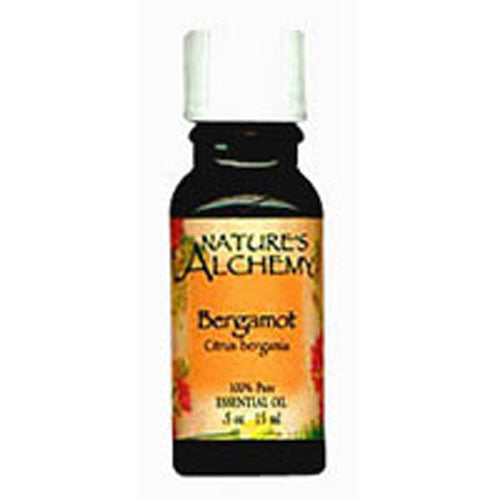 Pure Essential Oil Bergamot 0.5 Oz by Natures Alchemy