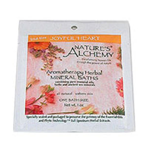 Aromatherapy Bath Joyful Heart 3 Oz by Natures Alchemy