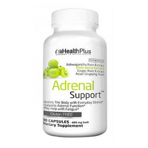 Adrenal Cleanse 90 Caps by Health Plus (2583980834901)