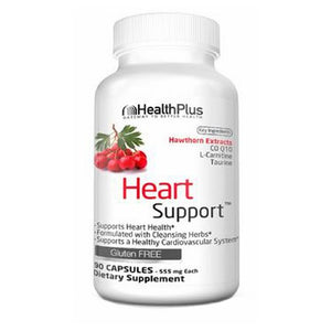 Heart Support 90 Caps by Health Plus