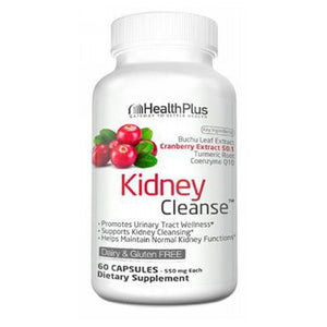 Kidney Cleanse 60 Caps by Health Plus