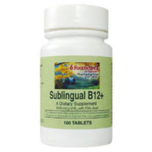 Sublingual B-12 Mc 100 Tabs by Foodscience Of Vermont