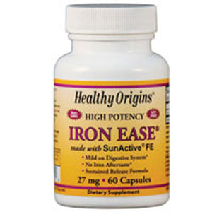 Iron Ease 60 Cap by Healthy Origins