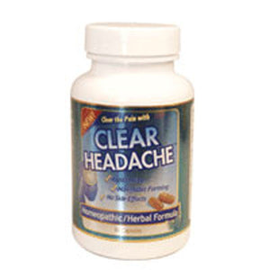 Clear Headache Caps 60 by Clear Products