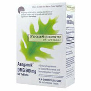 Aangamik Dmg Chewable 60 Tabs by Foodscience Of Vermont (2588861595733)
