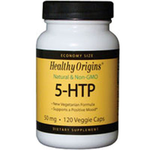 5-HTP 120 Capsules by Healthy Origins