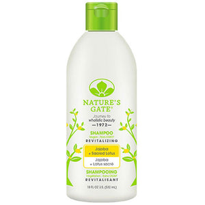 Revitalizing Shampoo Jojoba + Sacred Lotus, 18 Oz by Nature's Gate