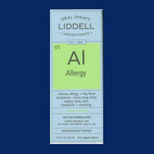 Allergy Formula 1 Oz by Liddell Laboratories (2584027365461)