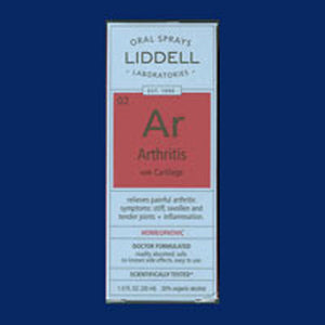 Arthritis Formula 1 OZ EA by Liddell Laboratories