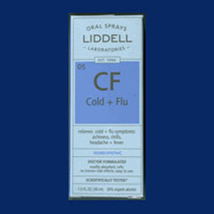 Cold & Flu 1 Oz by Liddell Laboratories (2588738781269)